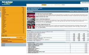 bet-at-home.com webseite